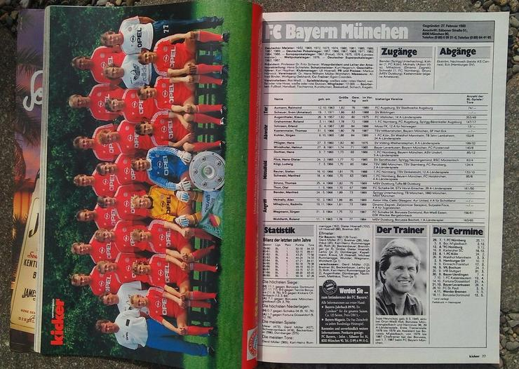 Bild 2: Kicker Bundesliga Sonderheft 89/90
