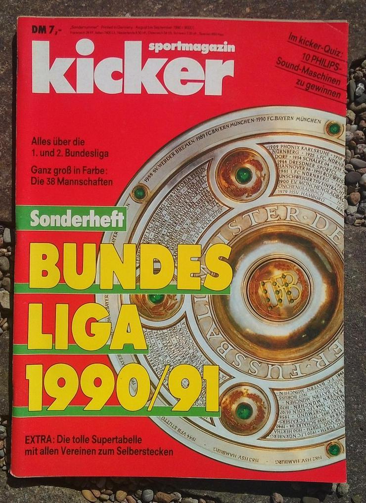Kicker Bundesliga Sonderheft 90/91 - Zeitschriften & Zeitungen - Bild 1