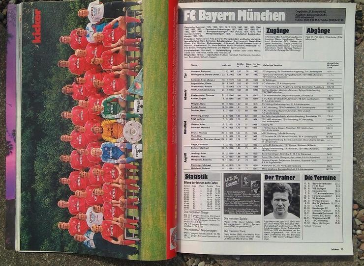 Bild 2: Kicker Bundesliga Sonderheft 90/91