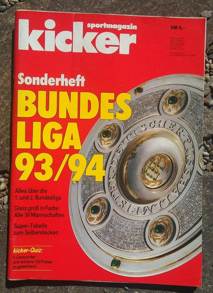 Kicker Bundesliga Sonderheft 93/94