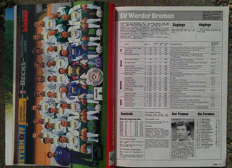 Bild 2: Kicker Bundesliga Sonderheft 93/94