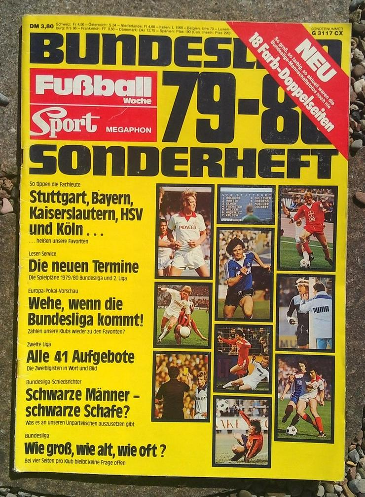Fussballwoche Bundesliga Sonderheft 79/80