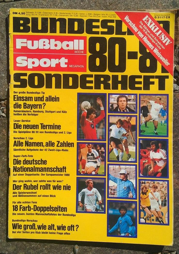 Fussballwoche Bundesliga Sonderheft 80/81 - Zeitschriften & Zeitungen - Bild 1