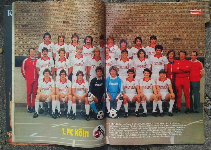 Bild 2: Fussballwoche Bundesliga Sonderheft 80/81