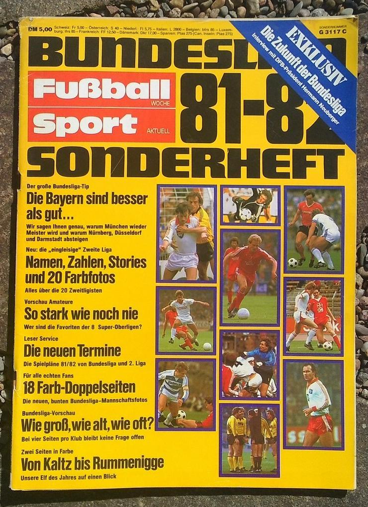 Fussballwoche Bundesliga Sonderheft 81/82