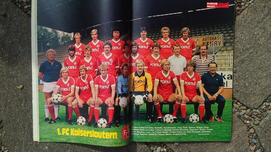 Bild 2: Fussballwoche Bundesliga Sonderheft 81/82