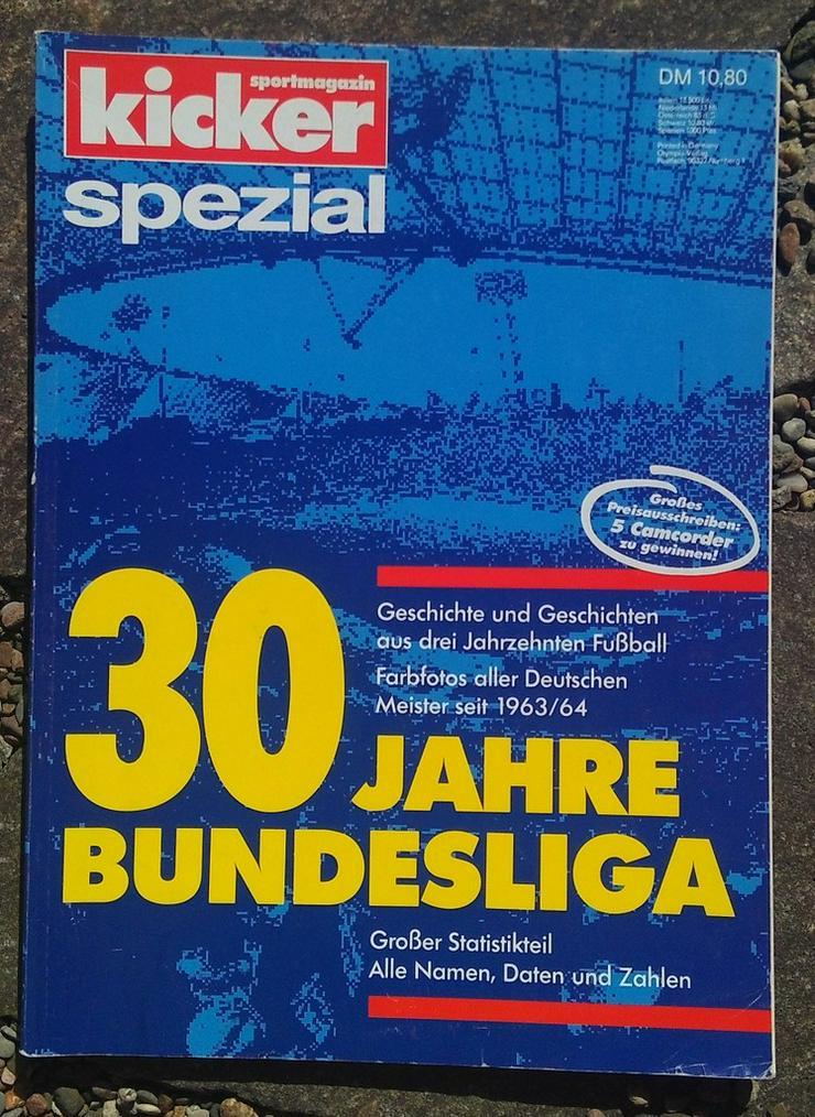 Kicker Spezial 30 Jahre Bundesliga