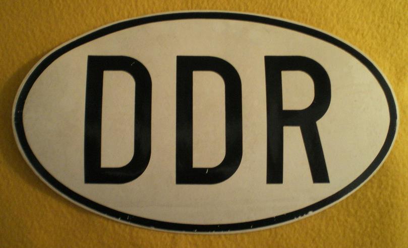 Original DDR Auto Aufkleber (FP) noch 1 x Preis runter gesetzt !
