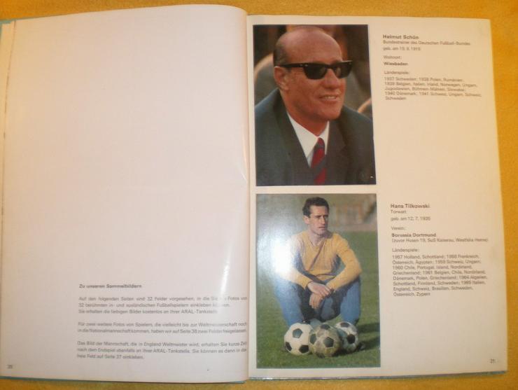 Bild 6: Sammelalbum Original WM 1966 von ARAL (VB)