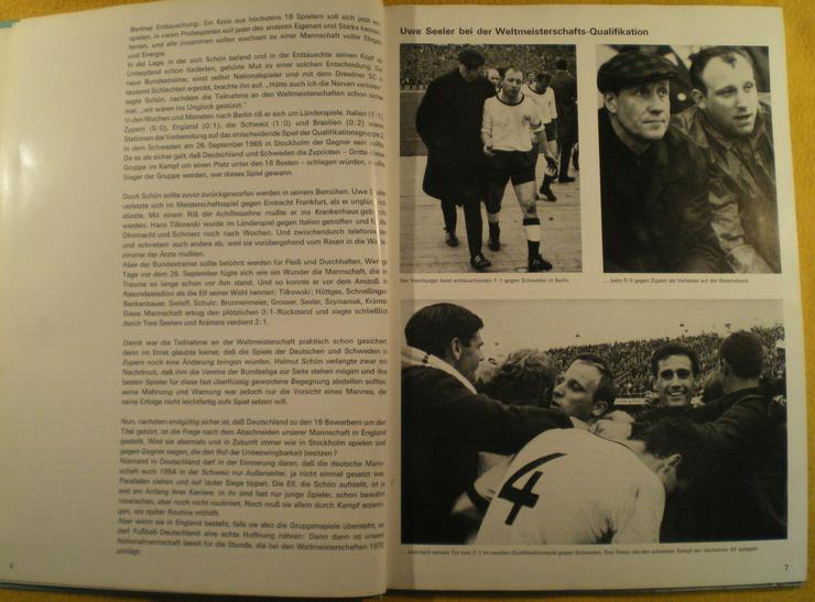 Bild 3: Sammelalbum Original WM 1966 von ARAL (FP)