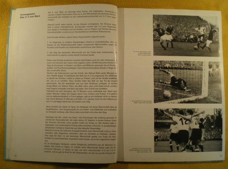 Bild 5: Sammelalbum Original WM 1966 von ARAL (FP)