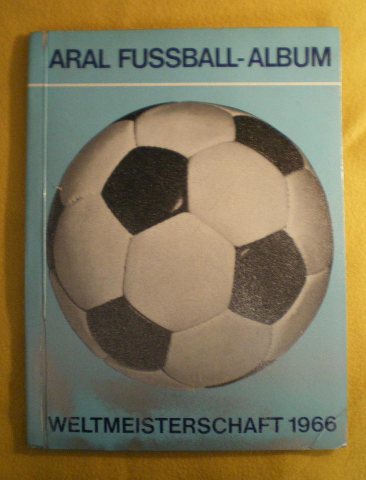 Sammelalbum Original Fussball WM 1966 (FP) noch 1 x Preis runter gesetzt ! - Aufkleber, Schilder & Sammelbilder - Bild 1