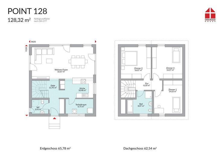 Bild 3: Traumhaus im Siegerland   -   für Familien zum Traumpreis incl. Bodenplatte -  bezugsfertig -  KFW 55