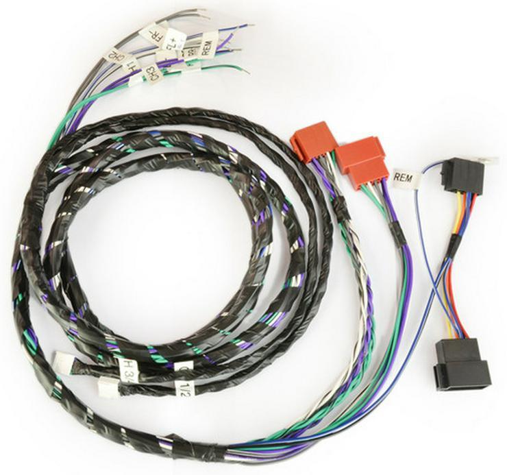 Axton P&P 4-Channel Amp Wiring Kit A460 A480 - Lautsprecher, Subwoofer & Verstärker - Bild 1