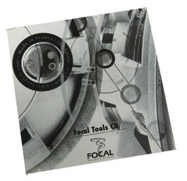 CD FOCAL Tools PRO-FO14 Musik CD zur Konfig. - Weitere - Bild 1