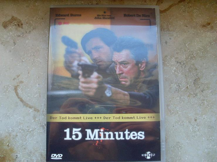 15 Minutes Robert De Niro Uncut DVD Kinowelt