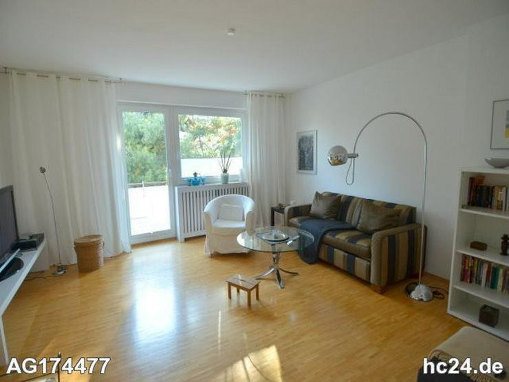Möblierte 2-Zimmer Wohnung in Wiesbaden mit Balkon und PKW-Stellplatz - Bild 1