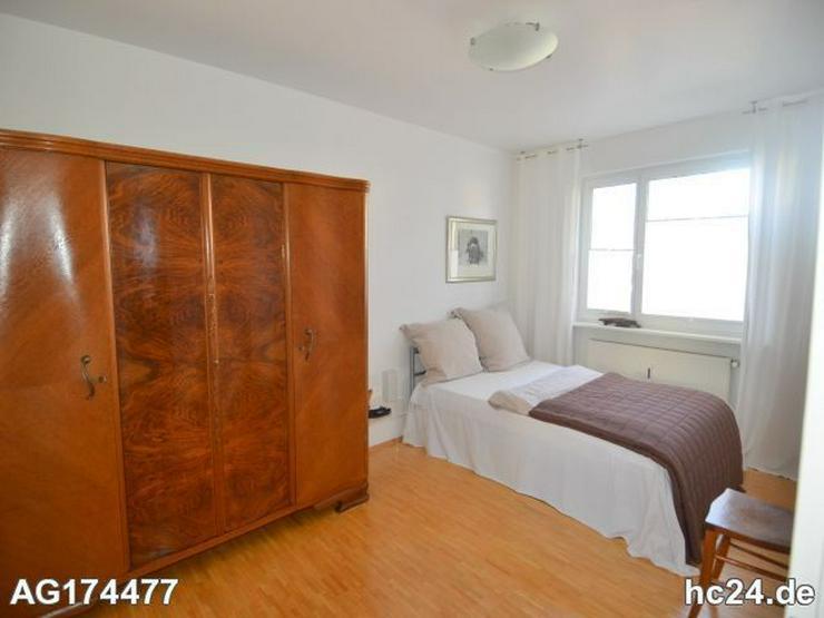 Bild 2: Möblierte 2-Zimmer Wohnung in Wiesbaden mit Balkon und PKW-Stellplatz