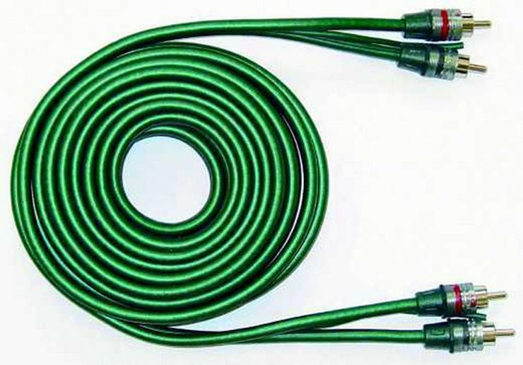 CR HKAB0350 Cinch Kabel 5mm 2 fach 5m - Lautsprecher, Subwoofer & Verstärker - Bild 1