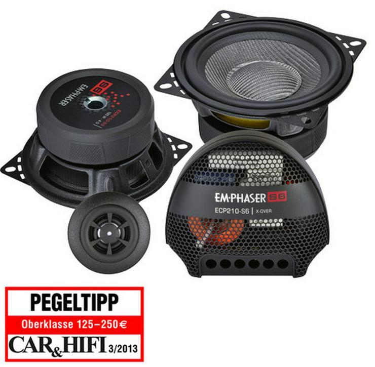 Emphaser ECP210-S6 2Wege 10cm Lautsprecher - Lautsprecher, Subwoofer & Verstärker - Bild 1
