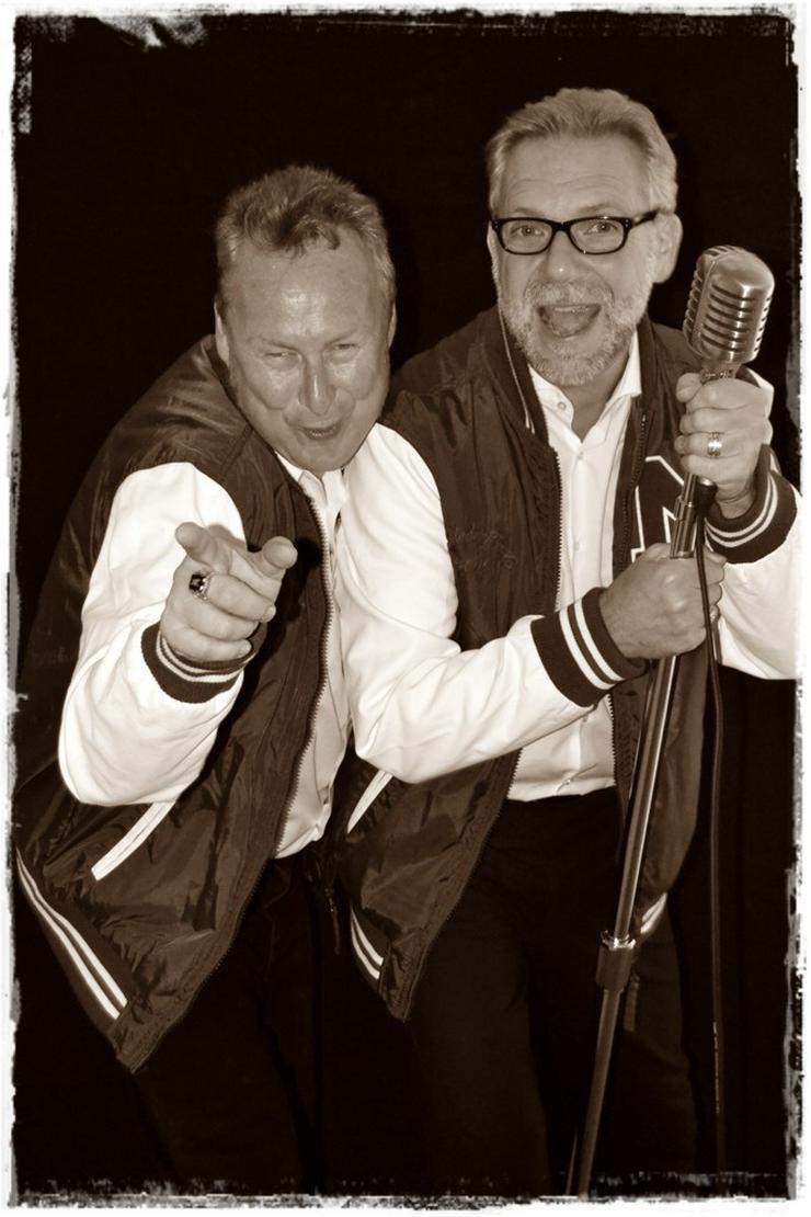 Bild 4: Big Boppers ... refresh das RocknRoll Duo