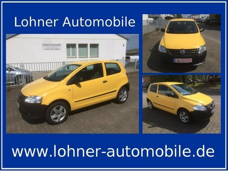 VW Fox 1.2 40kw 1. Hand Klima Alufelgen Scheckheft - Fox - Bild 1