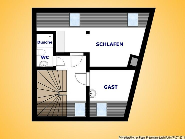 Bild 10: Kleine Wohnung über 2 Etagen - Büro im gleichen Haus möglich