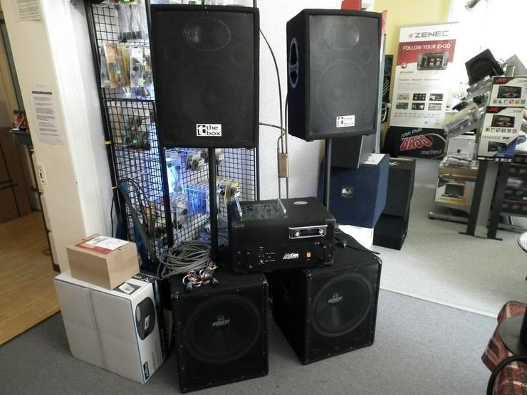 Bild 5: Axton A430DSP 4 Kanal Endstufe Amplifier DSP