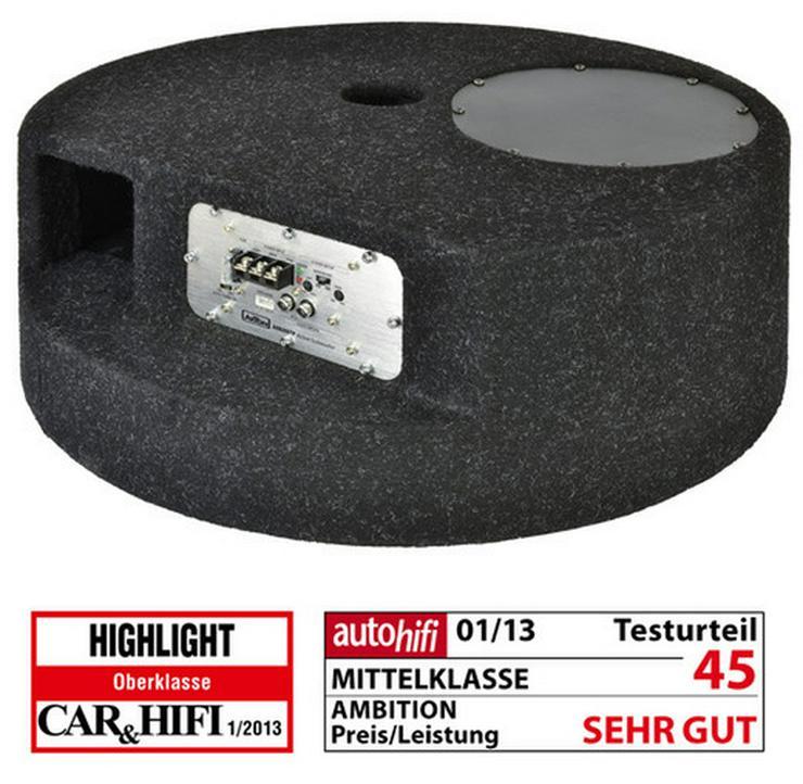 Axton AXB20STP 20cm 8 Zoll Aktivsubwoofer - Lautsprecher, Subwoofer & Verstärker - Bild 1