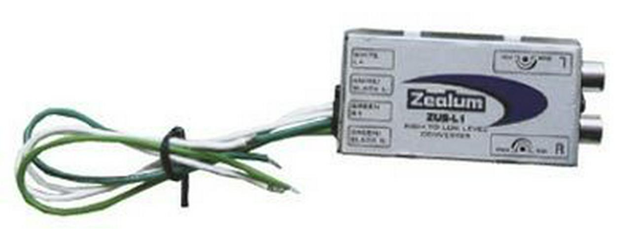 Zealum ZUS-L1 High to Low Level Konverter - Lautsprecher, Subwoofer & Verstärker - Bild 1