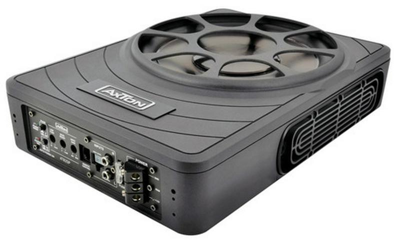 AXTON ATB25P Flat-Aktivsubwoofer 25 cm - Lautsprecher, Subwoofer & Verstärker - Bild 1