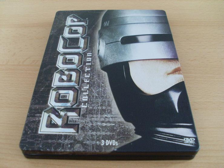 Robocop 1,2,3 Box DVD Steelbook UNCUT o FSKBut
