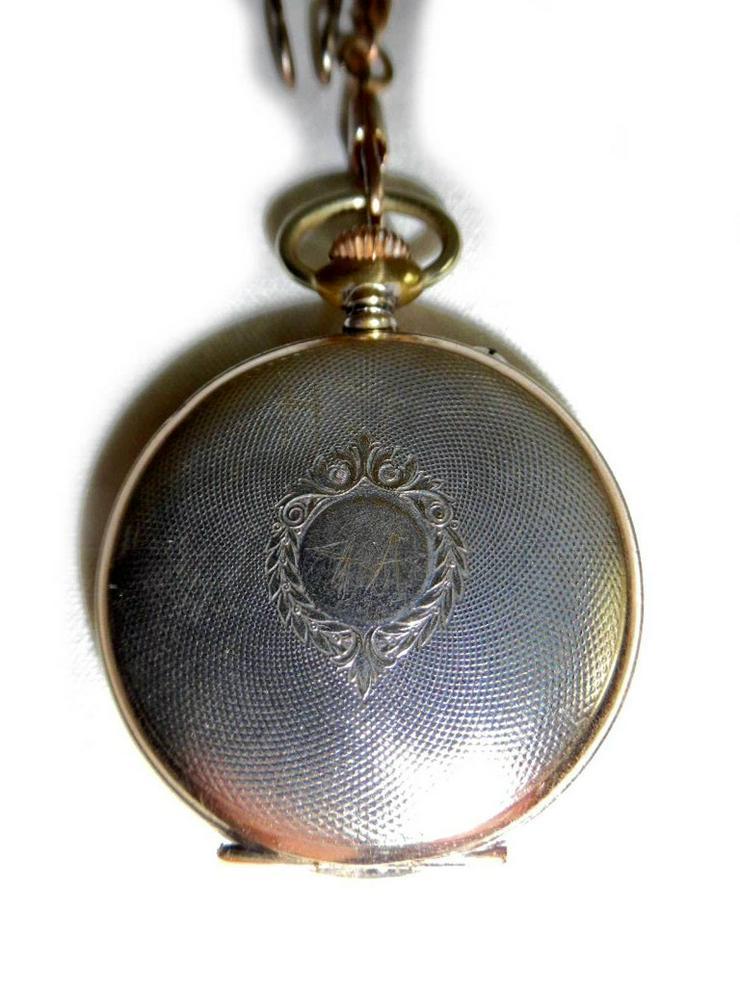 Bild 3: Schöne alte Taschenuhr von Junghans Astra