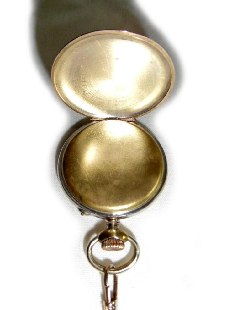 Bild 4: Schöne alte Taschenuhr von Junghans Astra