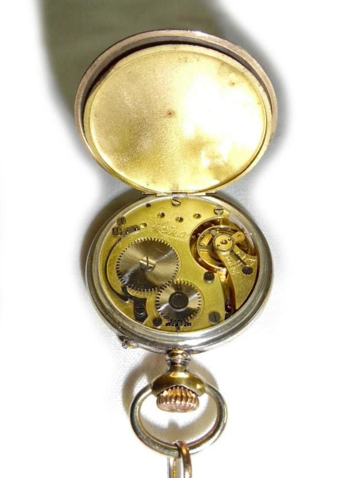 Bild 5: Schöne alte Taschenuhr von Junghans Astra