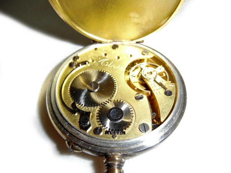 Bild 6: Schöne alte Taschenuhr von Junghans Astra