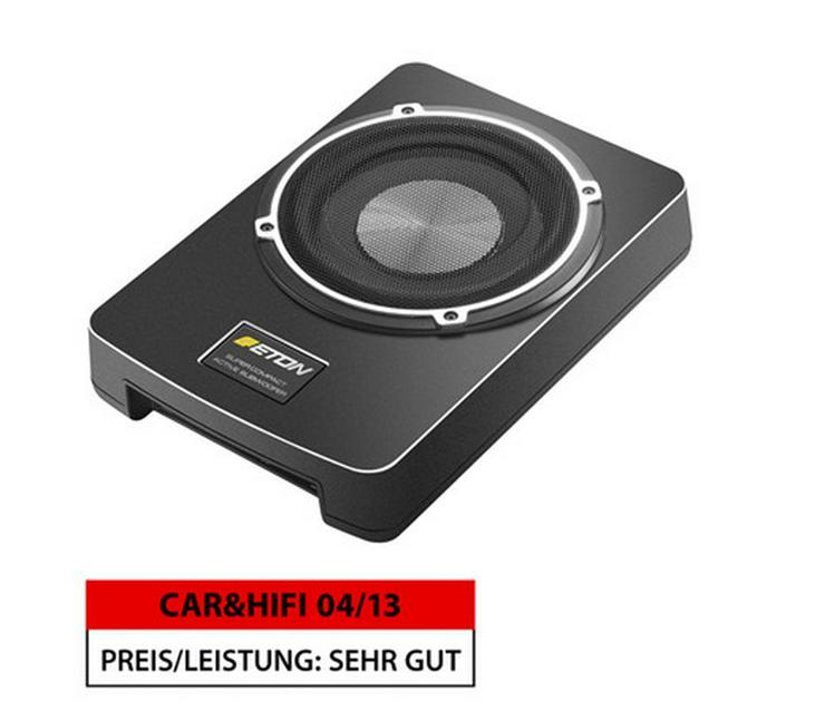 ETON 20 cm Untersitzbass aktiv Aktivsubwoofer - Lautsprecher, Subwoofer & Verstärker - Bild 1