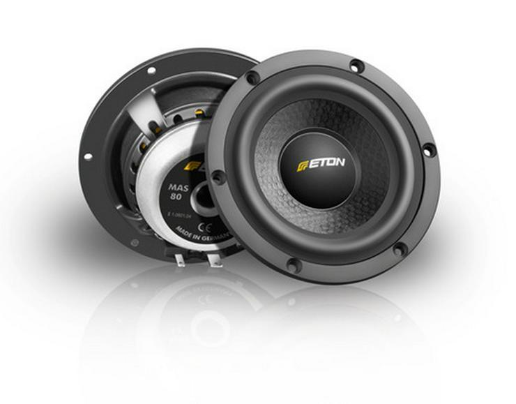 ETON MAS 80mm Mitteltöner Lautsprecher - Lautsprecher, Subwoofer & Verstärker - Bild 1