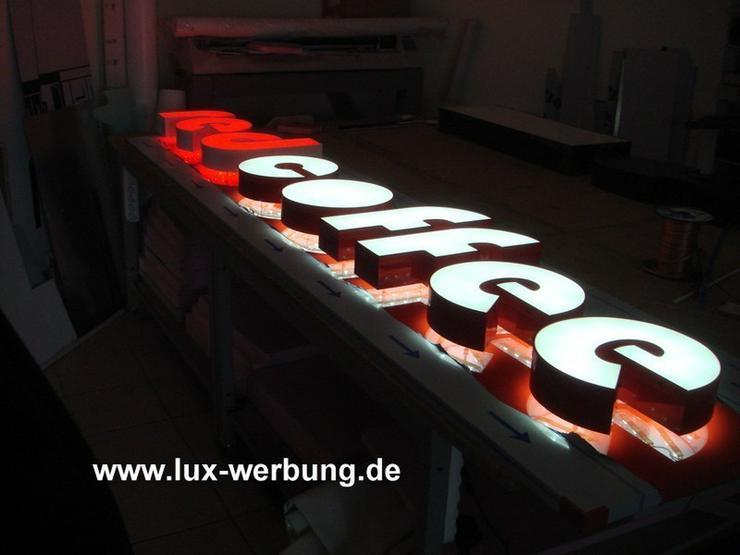 Bild 2: Außenwerbung Leuchtwerbung Leuchtreklame