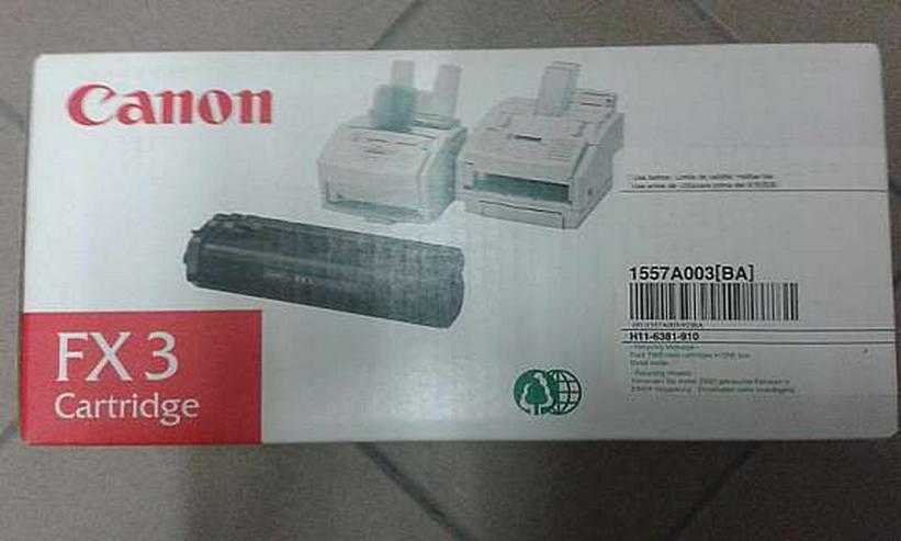 Canon FX 3 Tonerkartusche Schwarz - Toner, Druckerpatronen & Papier - Bild 1