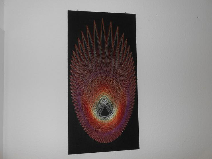 Schöne Fadengrafik - Motiv Komet