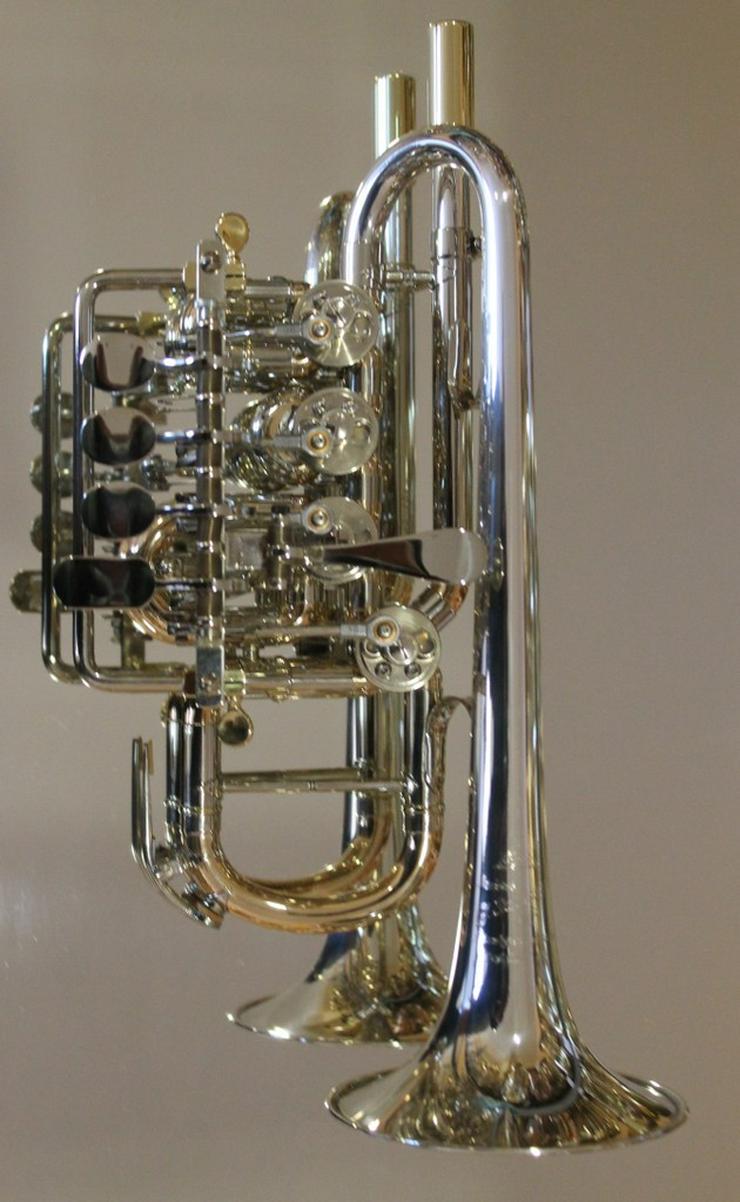 J. Scherzer Piccolotrompete Mod. 8111ST-L, Neu - Blasinstrumente - Bild 1