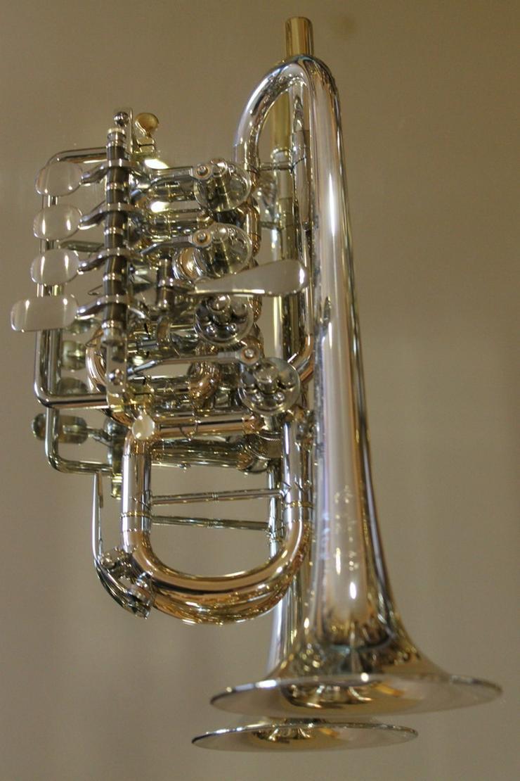 Bild 2: J. Scherzer Piccolotrompete Mod. 8111ST-L, Neu