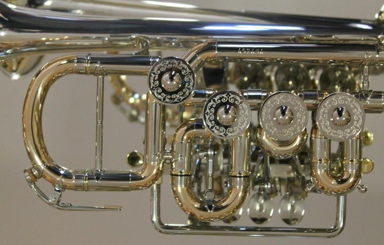 Bild 4: J. Scherzer Piccolotrompete Mod. 8111ST-L, Neu