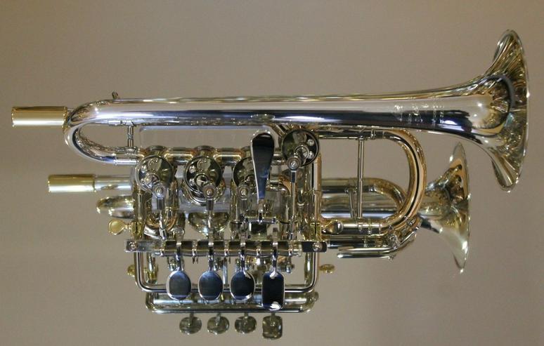 Bild 5: J. Scherzer Piccolotrompete Mod. 8111ST-L, Neu
