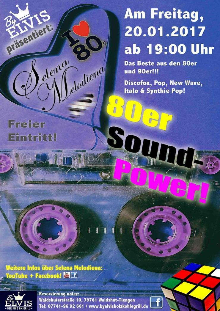 Bild 4: Alleinunterhalter /-in / 80er Musik / DJane