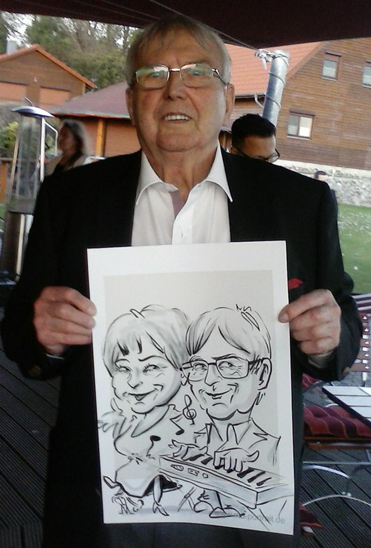 Bild 5: Schnellzeichner, Karikaturzeichner, Hochzeitszeichner, Messezeichner für Ihre Veranstaltung