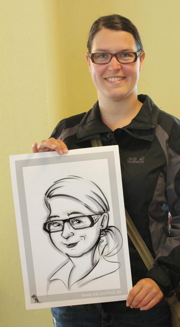 Bild 4: Schnellzeichner, Karikaturzeichner, Hochzeitszeichner, Messezeichner für Ihre Veranstaltung