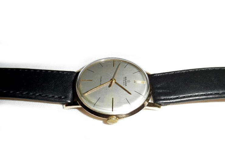 Bild 3: Selten elegante Armbanduhr von Golana