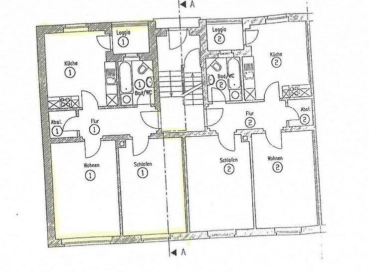 Bild 2: KAPITALANLAGE - Dresden-Tolkewitz in ruhiger Lage eine gut vermietete 2 Raumwohnung